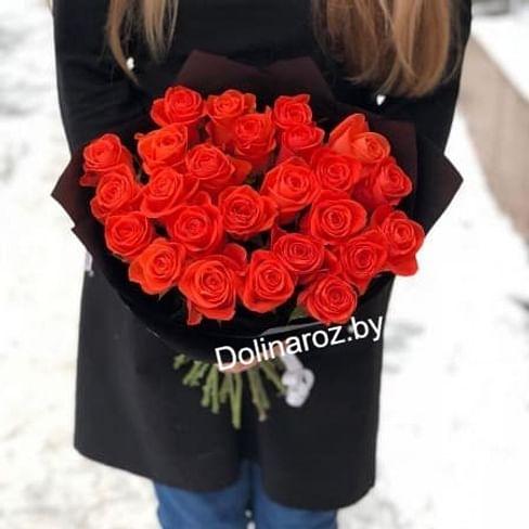 """Букет роз """"WOW"""" 25 роз"""