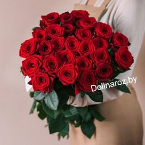 "Букет ""Пламя"" 25 роз"