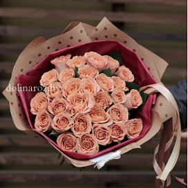 "Букет роз ""Объятия"" 25 роз"