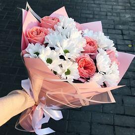 "Букет цветов ""Улыбнись"" 9 роз"