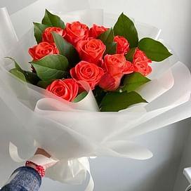 """Букет роз """"Яркий"""""""