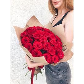 "Букет цветов ""Танго"" 31 роза"