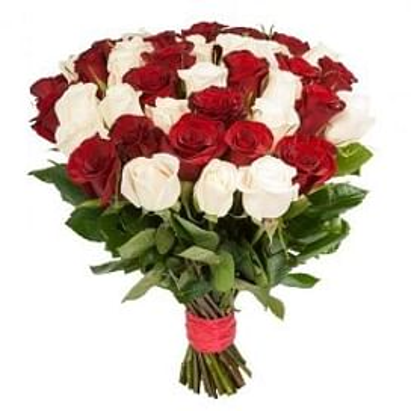 """Букет роз """"Микс 41"""" 41 роза"""