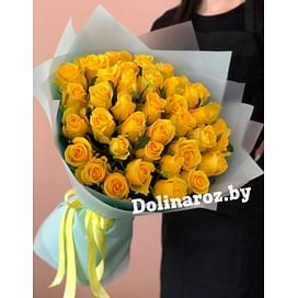 "Букет роз ""Лакомство"" 41 роза"