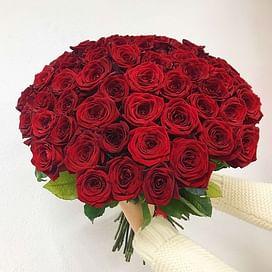 """Букет роз """"Страсть и любовь"""" 51 роза"""