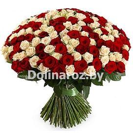 """Букет роз """"Огроменный"""" 201 роза"""