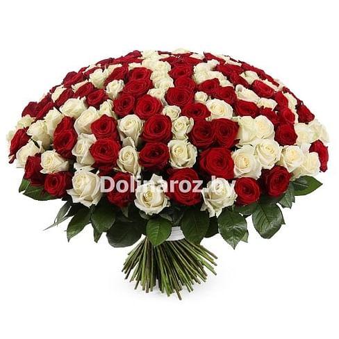 "Букет роз ""Big"" 201 роза"