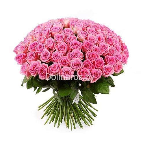 """Букет роз """"Аква"""" 101 роза"""
