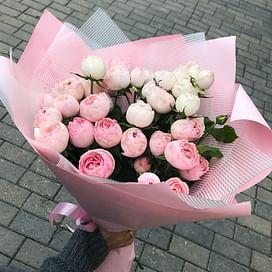 """Букет роз """"Воздух"""" Кустовые розы"""