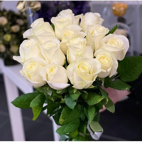 Букет роз «Анабель 15» 15 роз