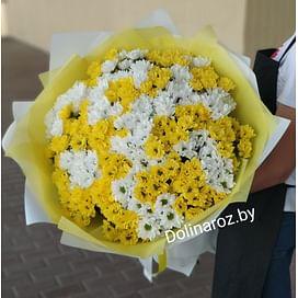 """Букет """"Бело-желтый"""" (41 шт)"""