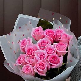 "Букет роз ""Любовное Послание"" 15 роз"