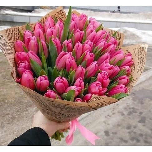 """Букет тюльпанов """"Амели"""""""