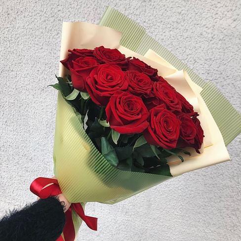 """Букет цветов """"Вечная Страсть"""" 15 роз"""
