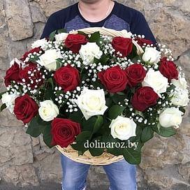 """Цветы в корзине """"Симфония"""""""