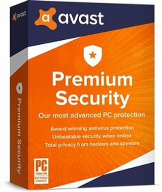 AVAST Software Avast Premium Security AVAST Software (лицензия на 1 год), for Windows 1 PC, aps-1-12m