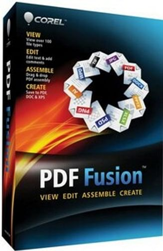 Corel Corporation Corel PDF Fusion Corel Corporation (лицензия CTL, электронная, англ )