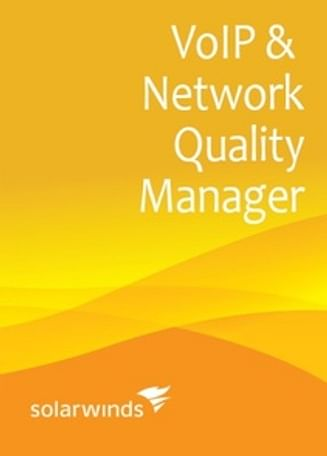 SolarWinds VoIP and Network Quality Manager IP SLA 5, IP Phone 300 SolarWinds (up to 5 IP SLA source devices, 300 IP phones) - License with 1st-Year Maintenance