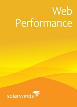 SolarWinds Web Performance Monitor WPM5 SolarWinds (up to 5 [recordings x locations]) - License with 1st-Year Maintenance