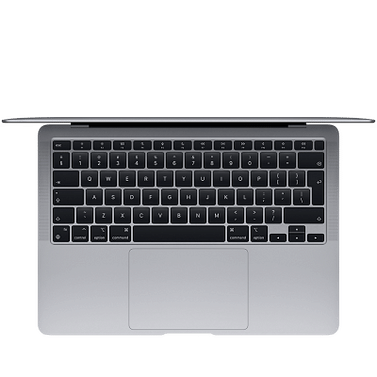 13-inch MacBook Air, Model A2337: Apple M1 chip with 8-core CPU and 7-core GPU, 256GB - Space Grey Apple MGN63