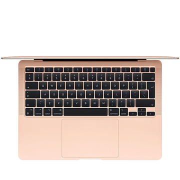 13-inch MacBook Air, Model A2337: Apple M1 chip with 8-core CPU and 7-core GPU, 256GB - Gold Apple MGND3