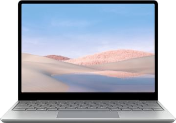 """Surface Laptop Go - 12.4"""" Touch-Screen - Intel Core i5 - 8GB Memory - 128GB SSD - Platinum Microsoft"""
