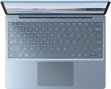 """Surface Laptop Go - 12.4"""" Touch-Screen - Intel Core i5 - 8GB Memory - 128GB SSD - Ice Blue Microsoft"""