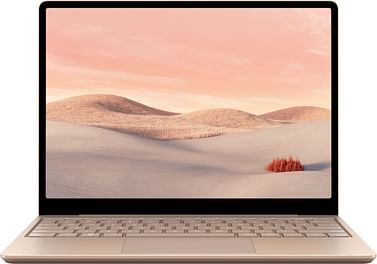 """Surface Laptop Go - 12.4"""" Touch-Screen - Intel Core i5 - 8GB Memory - 256GB SSD - Sandstone Microsoft"""