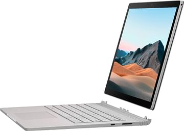 """Surface Book 3 13.5"""" Touch-Screen PixelSense Intel Core i7 - 32GB Memory - 512GB SSD - Platinum - NVIDIA GeForce GTX 1650 with Max-Q Design w/4GB GDDR5 graphics memory Microsoft"""