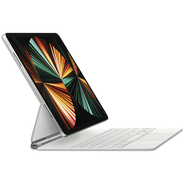 Magic Keyboard for iPad Pro 12.9-inch (5th generation) - Russian - White, Model A2480 Apple MJQL3RS/A