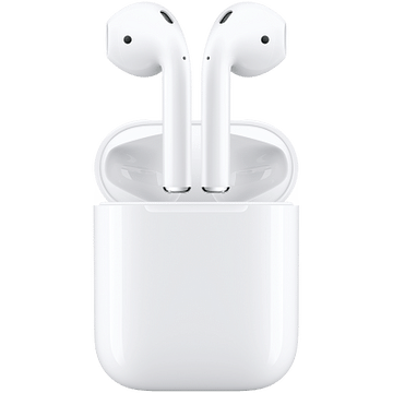 AirPods 2 with Charging Case, Model: A2032, A2031, A1602 Apple MV7N2