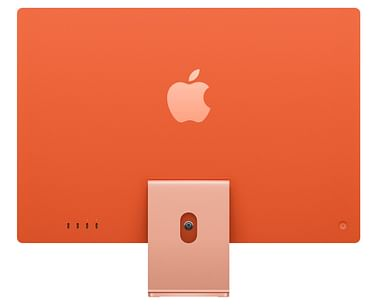 24-inch iMac with Retina 4.5K display: Apple M1 chip with 8-core CPU and 8-core GPU, 512GB - Orange, Model A2438 Apple ORA24RU/A