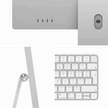 24-inch iMac with Retina 4.5K display: Apple M1 chip with 8-core CPU and 8-core GPU, 512GB - Purple, Model A2438 Apple PUR24RU/A