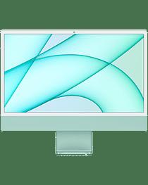 24-inch iMac with Retina 4.5K display: Apple M1 chip with 8-core CPU and 7-core GPU, 256GB - Green, Model A2439 Apple MJV83RU/A