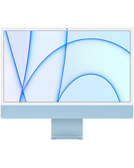 24-inch iMac with Retina 4.5K display: Apple M1 chip with 8-core CPU and 8-core GPU, 256GB - Blue, Model A2438 Apple MGPK3