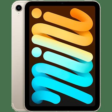 IPad mini Wi-Fi + Cellular 64GB - Starlight Apple MK8C3RK/A