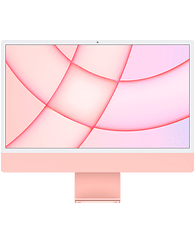 24-inch iMac with Retina 4.5K display: Apple M1 chip with 8-core CPU and 8-core GPU, 256GB - Pink, Model A2438 Apple MGPM3