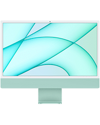 24-inch iMac with Retina 4.5K display: Apple M1 chip with 8-core CPU with 4 performance cores and 4 efficiency cores, 8-core GPU, and 16-core Neural Engine, 16GB unified memory, 1 TB SSD - Green, Model A2439 Apple Custom
