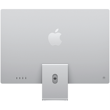 24-inch iMac with Retina 4.5K display: Apple M1 chip with 8-core CPU with 4 performance cores and 4 efficiency cores, 8-core GPU, and 16-core Neural Engine, 16GB unified memory, 1 TB SSD - Silver, Model A2438 Apple Custom