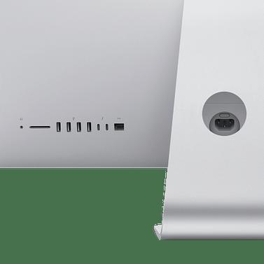 27-inch iMac with Retina 5K display: 3.3GHz 6-core 10th-generation Intel Core i5 processor/Turbo Boost up to 4.8GHz/8GB 2666MHz DDR4 memory/512GB SSD storage/Radeon Pro 5300 with 4GB of GDDR6 memory/Retina 5K 5120-by-2880 P3 display with True Tone Apple MXWU2RU/A