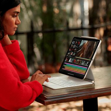 12.9-inch iPad Pro Wi-Fi + Cellular 256GB - Silver Apple MHR73