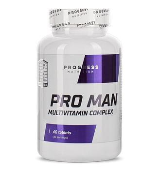 Витамины Progress Nutrition Pro Man 60 таблеток Progress Nutrition