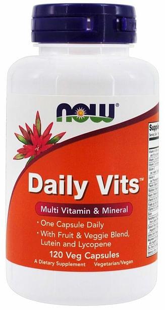 Витамины NOW Daily Vits Multi 120 капсул NOW
