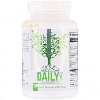 Витамины Universal Nutrition Daily Formula 100 таб UNIVERSAL NUTRITION