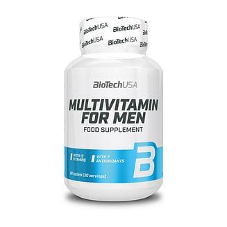 Витамины и минералы BioTechMultivitamin for Men60 tabs BioTech