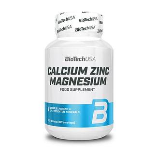 Витамины и минералыBioTechCalcium Zinc Magnesium100 tabs BioTech