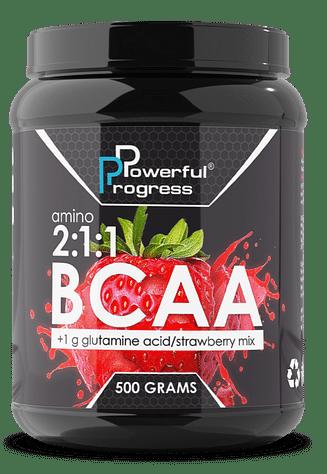 Аминокислоты Powerful Progress Amino BCAA 2:1:1 500 гр Powerful Progress