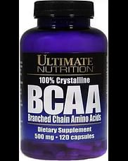 БЦАА Ultimate Nutrition BCAA 500 мг 120 капсул Ultimate Nutrition