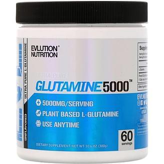 Глютамин eVLution Nutrition Glutamine 5000 300 гр EVLution