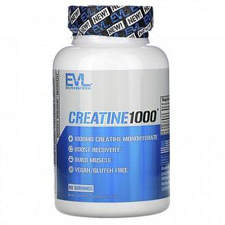 Креатин EVLution Nutrition Creatine 1000 120 капcул EVLution